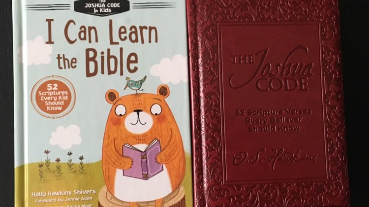 "Bible Memory ""The Joshua Code""/ ""I Can Learn the Bible"" Giveaway!"