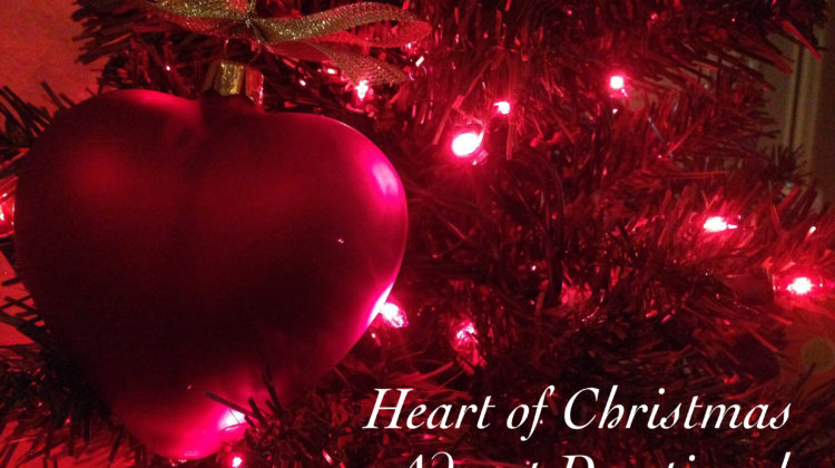 It's here! The Annual Heart of Christmas Advent Devotional for Kids!